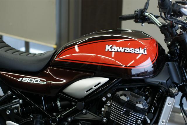 KAWASAKI Z900RS コーティング実績画像