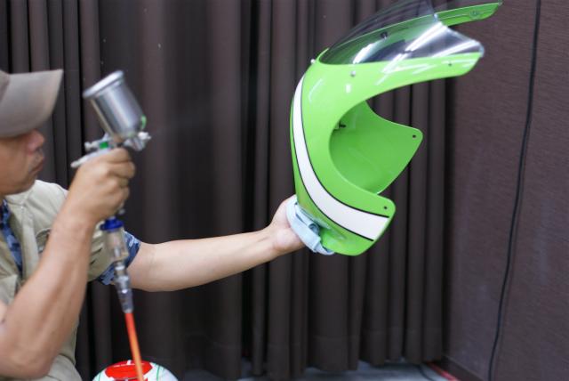 KAWASAKI Z 900 RS CAFE コーティング実績画像