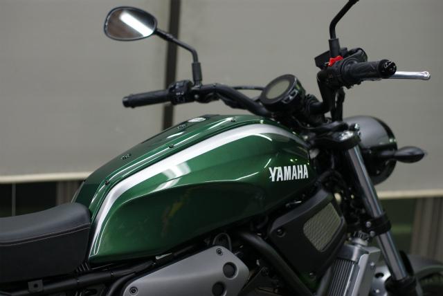 YAMAHA XSR 700 コーティング実績画像